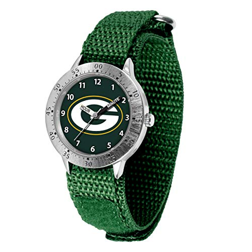 Game Time NFL Green Bay Packers TailgaterWrist Watch, Team Color, One Size (Nfl Stainless Steel Wrist Watch)