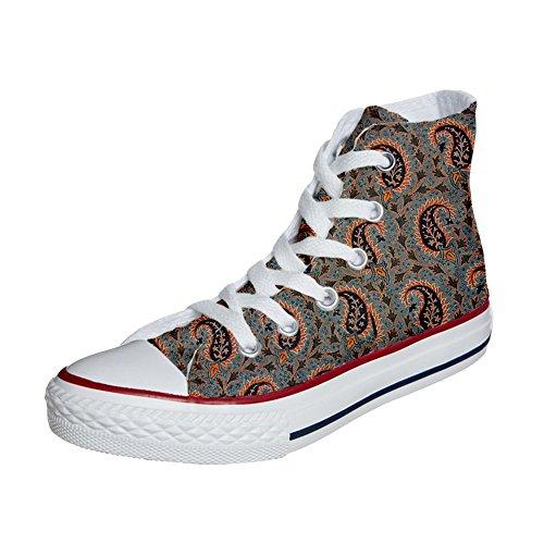 Converse All Star personalisierte Schuhe (Handwerk Produkt) Persian Paisley