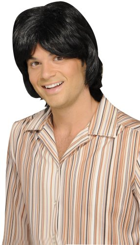 Forum Novelties 70's Teen Heart Throb Adult Wig, One Size, Yellow ()