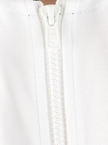 Tommy Hilfiger Men's Sporty Tech Zip Jacket, White, Small by Tommy Hilfiger (Image #3)