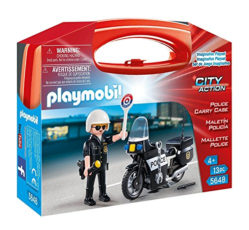 PLAYMOBIL Police Carry Case JungleDealsBlog.com