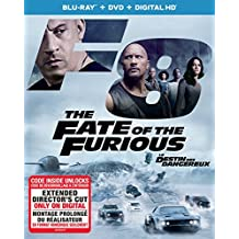 The Fate of the Furious [Blu-ray + DVD + Digital HD] (Sous-titres français)