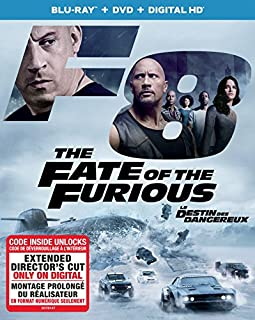 The Fate of the Furious [Blu-ray + DVD + Digital HD] (Sous-titres français) (B06Y2BFSSY) | Amazon Products