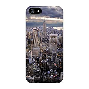 For HappyDIYcase Iphone Protective Case, High Quality For Iphone 5/5s Rockefeller Skin Case Cover