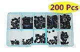 Guard4U 200Pcs 12.9-Class Black Alloy Steel Allen