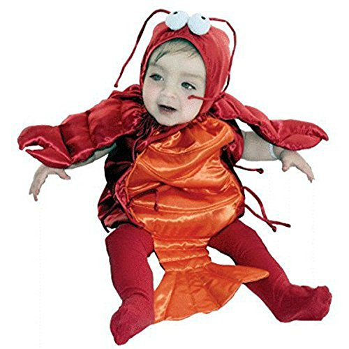 AM PM Kids! Baby's Lobster Costume, Red/Orange, One Size(6-18 Month) -