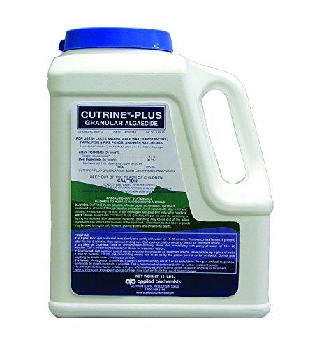 Applied Biochemists 390242A Cutrine-Plus Granular Algaecide, 12 Pounds