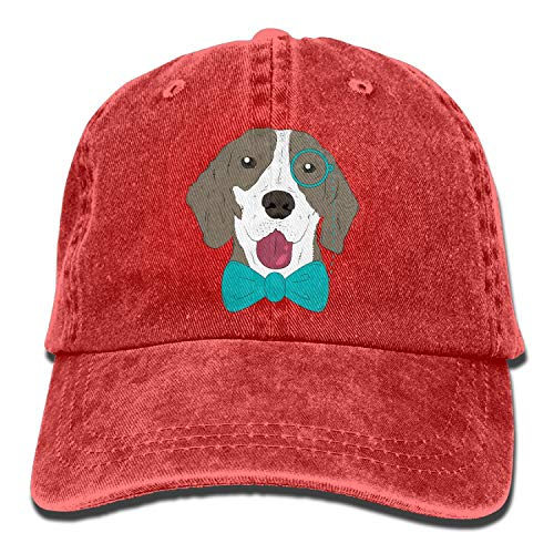 Boxer Dog 3D Creative Personality Washed Denim Hats Autumn Summer Men Women Golf Sunblock Hockey Caps
