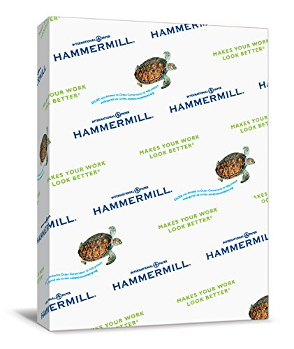Hammermill Paper, Colors Cream, 24lb, 8.5 x 11, Letter, 500 Sheets / 1 Ream (168060R), Made In The USA