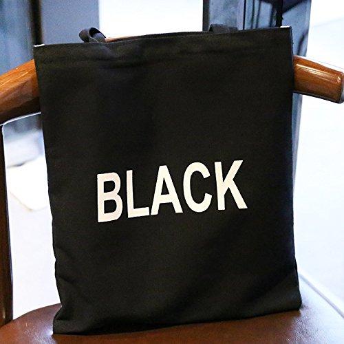 de lona la bolsa de de simple la compra de de la bolso la compra bolsa compra de de la compra Negro compra 1cm compra x la 32cm mujer x portátil 1 bolso compra para de hombro bolsa de casual bolso bolso la TXqfw7