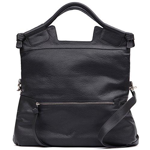 Foley Corinna Handbags Mid City Tote (Foley & Corinna Mid City Tote 145001 Charcoal)