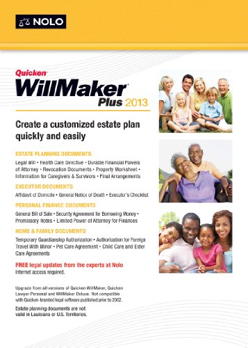 Amazon.com: Quicken WillMaker Plus 2013 [Download]: Software