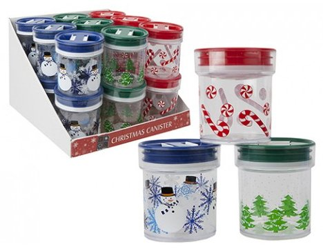 Christmas Food Or Sweet Vacuum Storage Container By Homestreet In