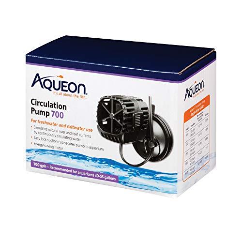 Aqueon Circulation Pump for Aquariums, 700 GPH, Black