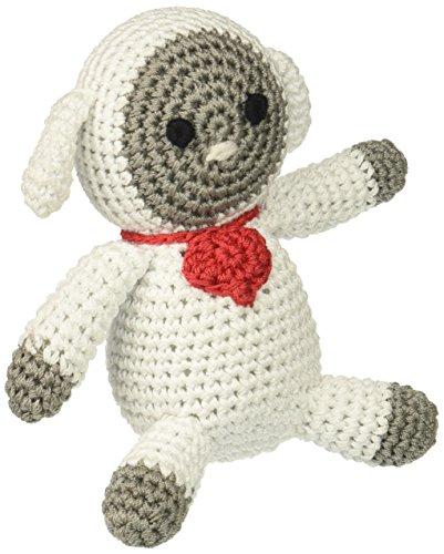 Mirage Pet Products 500-007 Knit Knacks Fleece the Lamb Orga
