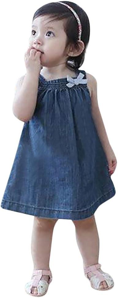 Vestido para niña Vaca Vestido Princesa Falda de Vaquero Chaleco ...