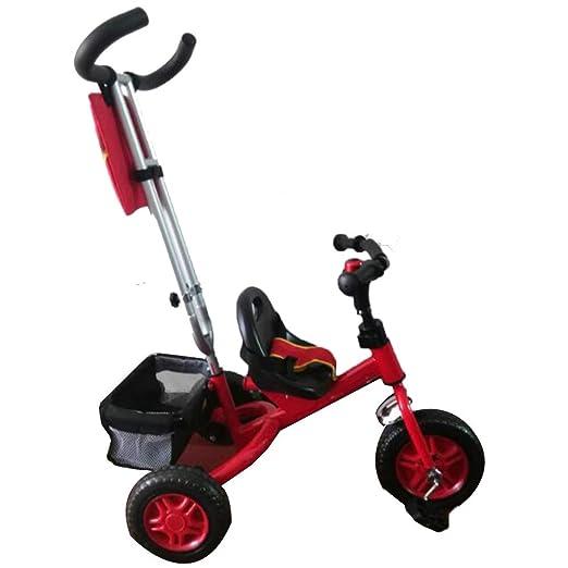 YUMEIGE triciclos Triciclo para niños Peso de Carga 80 Kg 1 ...