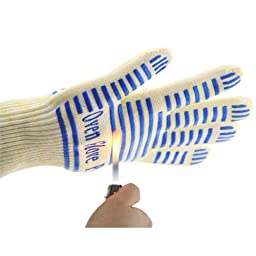 Oven Gloves, Zotoon Heat Resistant Oven Mitts For BBQ Outdoor Cooking Grilling Potholder