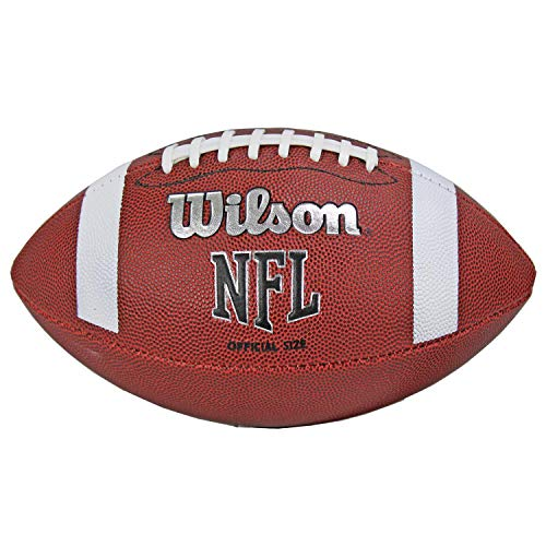 Wilson TDS NFL Official Size 9 Rubber Cover American Sports Football | WTF1858 WTF1858XB+