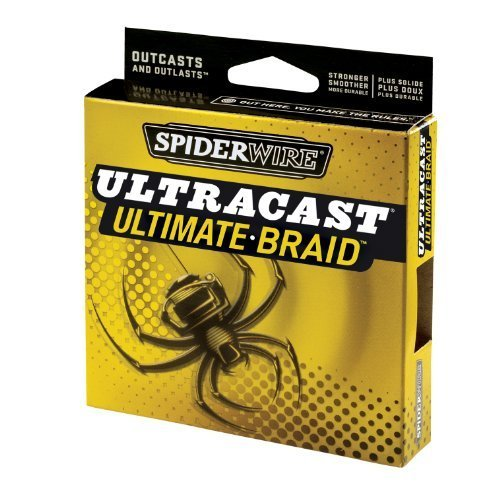 SpiderWire Ultracast Ultimate Braid Superline Fishing Line