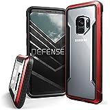 Galaxy S9 X-Doria Defense Shield De Proteção De Alumínio Design Fino À Prova De Choque Transparente Para Samsung Galaxy S9 Vermelho, X-Doria, XD346-03, Vermelho
