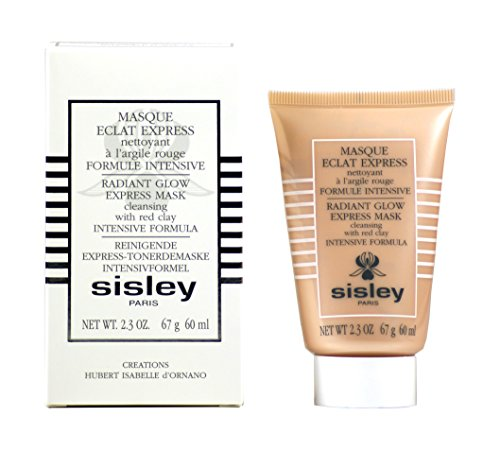 Sisley Radiant Glow Express Mask with Red Clays, 2.3-Ounce Tube