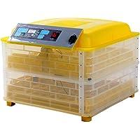 Incubadora Huevos Digital Automatica Volteador Incubar Pollos Gallinas Patos Gansos Pavos Led (96 huevos)