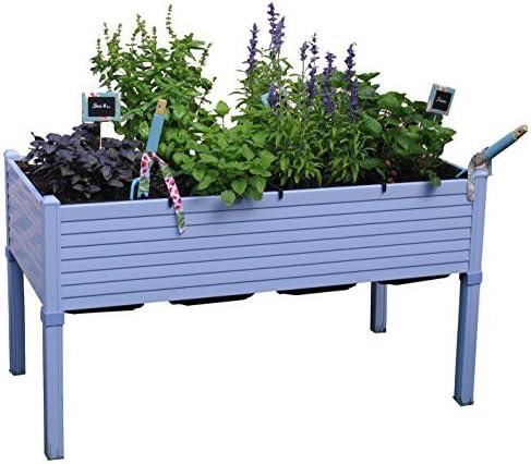 Huerto urbano GREENLAND de 120x60x75 cm. Para terraza/jardín ...
