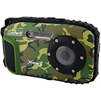 Coleman C9WP-CAMO Xtreme3 20 MP Waterproof Digital Camera with Full 1080p HD Video (Camo)