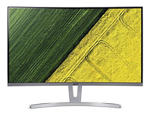 "Acer ED273 wmidx 27"" Full HD (1920 x 1080) Curved 1800R VA Monitor with AMD FREESYNC Technology - 4ms | 75Hz Refresh Rate | HDMI, DVI & VGA port"