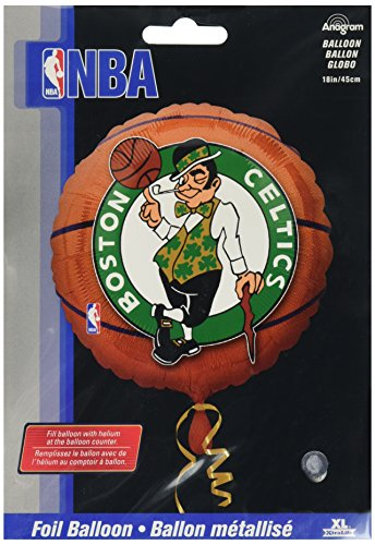 Anagram International A11373601 Boston Celtics Balloon Pack, 18