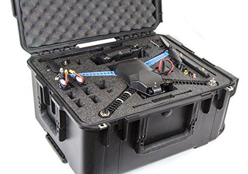 CasePro CP-3DR-IRIS 3D Robotics Iris/Iris+ Wheeled Hard Case (Black)