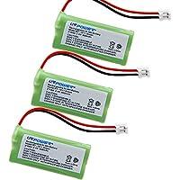 COCO-VISION 3 Pack BT-1011 Cordless Phone Replacement Batteries for Uniden DECT 6.0 BT-1011 BT1011, BT-1018 BT1018, DECT3080 DECT 3080