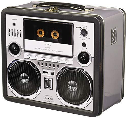 Aquarius Boombox Large Tin Fun Box -