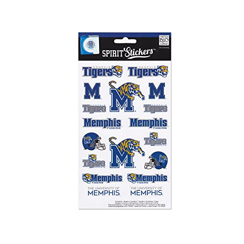- me & my BIG ideas Officially Licensed NCAA Spirit Stickers, Memphis
