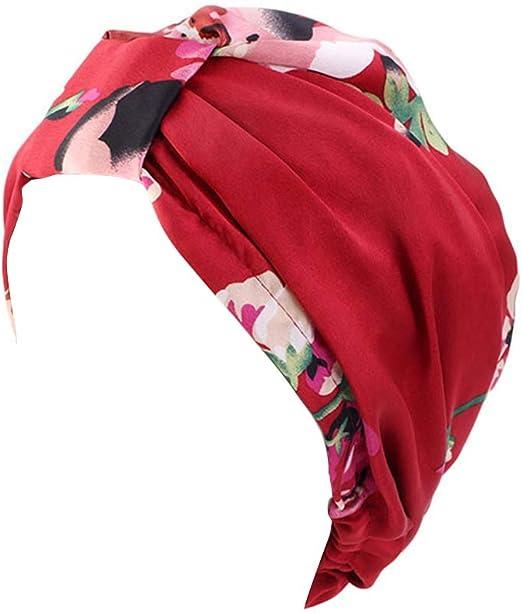 TININNA Gorro Sombrero Pañuelo Turbante Mujer Cabeza para Cáncer ...