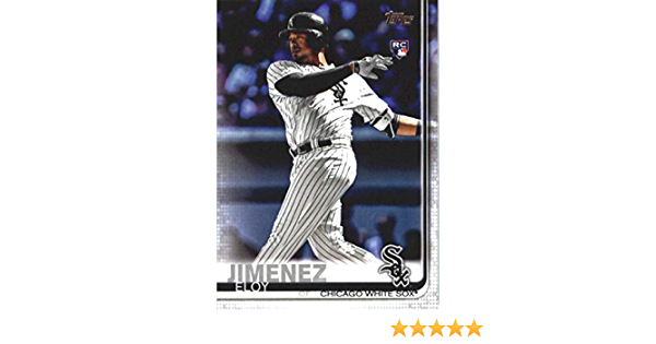 Only 573 made! 2019 Topps Now Baseball #266 Eloy Jimenez Rookie Card White Sox