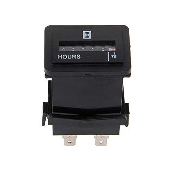 Hergon - Temporizador digital para coche, contador de horas ...