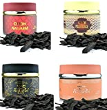 Assorted 4 (four) Pack Nabeel 60gm Oudh: Nasaem, Black, Nabeel Touch Me and Mashreq