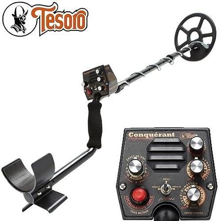 Tesoro Metal Detector Conqueror Pro  Supplied with Protector