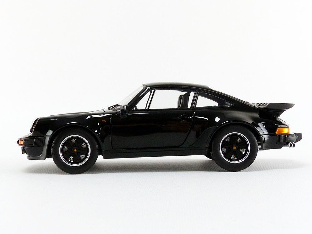 Norev Miniatura de Coche Porsche 911Turbo 3.3L 1977(Escala 1/18, 187576, Negro