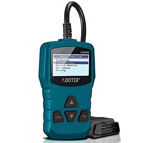 Adoter OBD II Scanner Classic Enhanced Universal Car Engine Fault Code  Reader,Clear existing Trouble Code,CAN Diagnostic Scan Tool …