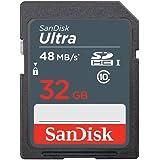 32GB SanDisk サンディスク Ultra SDHCカード UHS-I対応 R:48MB/s 海外リテール SDSDUNB-032G-GN3IN [並行輸入品]