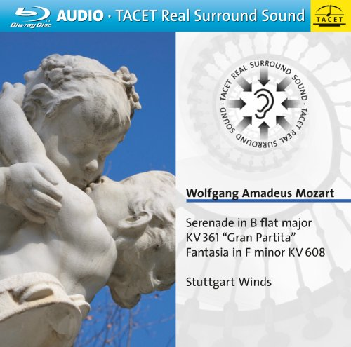 Stuttgart Wind Ensemble - Serenade in B Flat Major KV 361 Gran Partita (Blu-ray Audio)