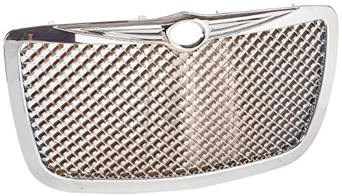 Spec-D Tuning HG-300C05C Chrysler 300 300C Front Chrome Mesh Honeycomb Grill Grille
