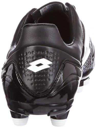 Lotto Sport FUERZAPURA IV 300 FG Q7252 Herren Fußballschuhe Schwarz (Black/White)