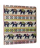 Fashion Round Ring 1 inch Binder (Elephants)
