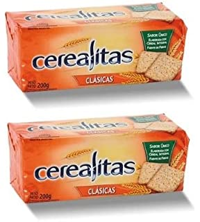 Cerealitas Galletitas Argentinas (Salvado | Bran, 2 Pack)