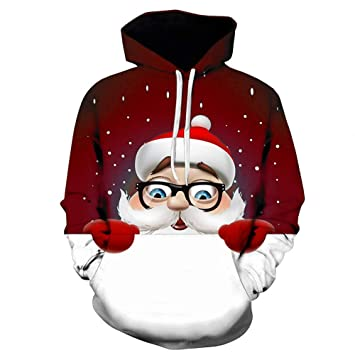 Amazon.com   gessing Leless Unisex Realistic 3D Printed Hoodies Pullover  Funny Graphic Animal Sweatshirts Fleece Hoody (L 8bfa9f288
