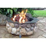 Firescapes The Colorado Octagonal Propane Fire Pit